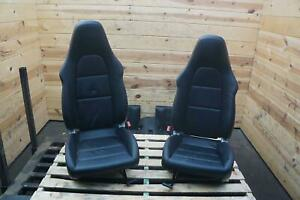Set Of 7 Front Rear Left Right Seat Black Red 4 Way Porsche 991 911 12 16 Note