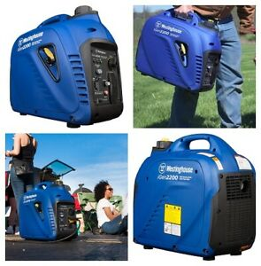 Portable Inverter Generator 1800 Rated Watts And 2200 Peak Watts Gas Powered New