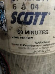 Scott 4500psi 60min Scba Air Pak Bottle Cylinder Tank 2004