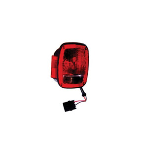 Omix ada Black Right Replacement Tail Light Assembly For 91 97 Jeep Wrangler Yj