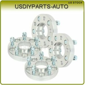 4 Pcs 1 Thick Wheel Spacers 5x4 5 14x1 5 Studs For Jeep Liberty Wrangler