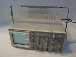 Beckman Industrial 40mhz Oscilloscope Model 9204