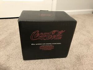 LIMITED EDITION - Stranger Things new coke - cans & bottles + box - coca cola
