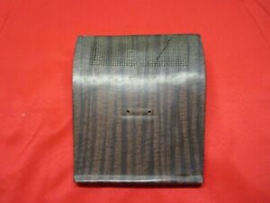1968 1969 Amc Amx And Javelin Center Dash Speaker Grille Woodgrain As Is