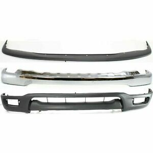 Complete Front Bumper Air Deflector Combo Kit Fits 2001 2004 Toyota Tacoma