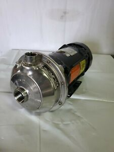 Goulds Npe 1x1 1 4 6 Centrifugal Pump 85gpm 40 tdh 1 5hp Explosion Proof Motor