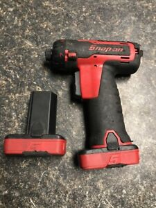 Snap On Cordless Impact Driver Wrench Ct761aqc With Battery No Charger