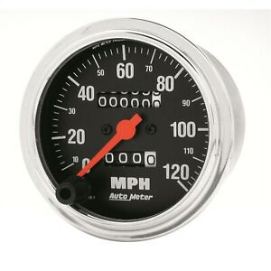 Autometer 2492 Traditional Chrome Mechanical Speedometer
