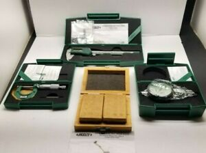Insize Micrometer Calipers Gauge Set In Padded Case