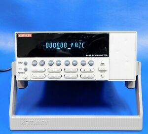 Keithley Instruments 6485 5 5 Digit Picoammeter With 10fa Resolution Untested