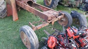Allis Chalmers Wd Wd45 Tractor Wide Front End Assembly Complete Tires Rims Wc