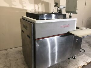 Hobart Uws Automatic Commercial Meat Wrapping Station Scale System Machine