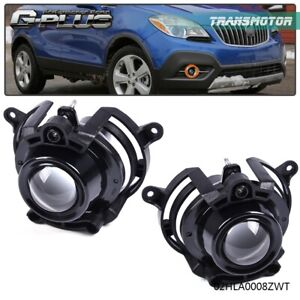 Projector Fog Light Lamps For 2008 2009 2010 2011 2012 Chevy Malibu Cadillac Cts