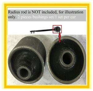 2 Front Lower Arm Radius Rod Bushings For 1990 96 Nissan 300zx 93 97 Infinti J30