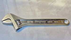Snap On 12 300mm Crescent Style Adjustable Wrench Ad12 Nice Tool