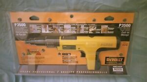 New Never Opened Dewalt Semi automatic Powder Actuated Trigger Tool P 3500