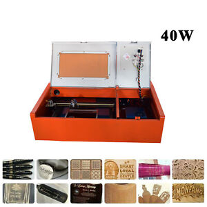 40w Co2 Laser Engraving Cutting Machine Laser Printer Usb 300 200mm