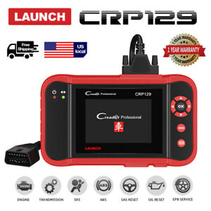 Launch Crp129 Obd2 Scanner Diagnostic Scan Tool Oil Reset For Ford Chevrolet Gmc