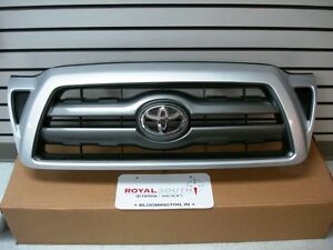 Toyota Tacoma Painted Silver 1e7 Sport Grille Genuine Oem Oe