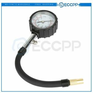 100 Psi Dial Truck Tire Air Pressure Gauge For Cars Trucks Motorcycles Bicycles