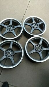 17 Jdm Rays G games Genuine Wheels Gramlights Great Condition