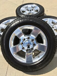 20 Inch Gmc Sierra Chevy Silverado 2500 3500 Oem Wheels Rims Tire 2018 2019 Z71