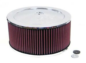 K n Filters 60 1240 Custom Air Cleaner Assembly