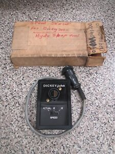 Dickey john Tractor Magnetic Analog Ground Speed Sensor Used Free Shipping