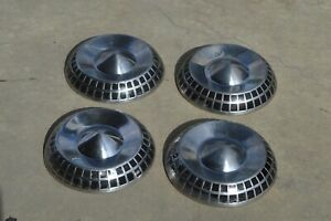 Rare Vintage 1959 Dodge Royal Lancer Coronet Dogdish Poverty Police Hubcaps 59
