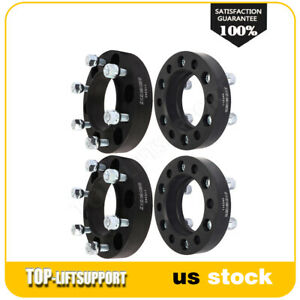 4x 1 25 Inch 6x5 5 Hub Centric Wheel Spacers 12x1 5 Fits Toyota Tacoma 4runner