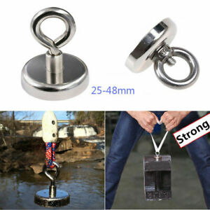 Tiny Neodymium Recovery Magnet Metal Detector Claw Hook Strong Magnetic Rihcc