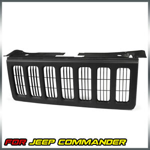 For 2006 2010 Jeep Commander Front Grill Grille Black Ch1200303 55156975ad
