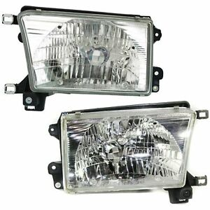 For Ty 4runner 1996 1997 1998 1999 2000 2001 2002 Headlight Right Left Pair