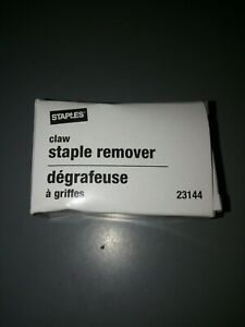 New Staples Staple Remover 23144 Lot Of 3
