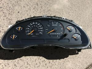 1998 Only Ford Mustang V6 Gauge Cluster 120 Mph Sn95 196574k New Gears Installed