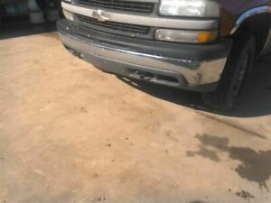 2000 Chevy Silverado Front Bumper Chrome Without Fog Lamps 844258