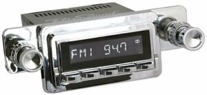 Retrosound Ford Mustang 1964 66 Zuma Radio Am Fm Rds Usb Aux Chrome