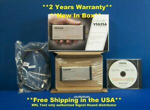Signal Hound Vsg25a Vector Signal Generator 100 Mhz To 2 5 Ghz New In Box