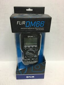 Flir Dm66 Electrical Field Service Trms Multimeter With Vfd Mode