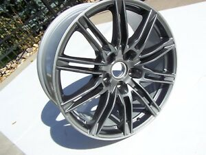 2011 2019 Porsche Cayenne 21 Wheel Oem Nice Rim 10jx21 10 Split Spoke Gray