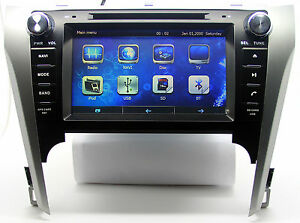 8 Auto Stereo Car Radio Cd Dvd Player Gps Navigation For Toyota Camry 3d Maps