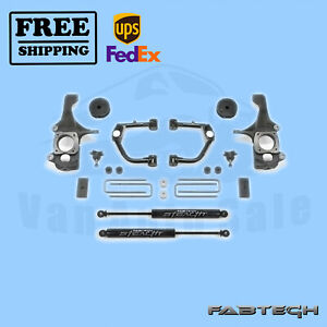 4 Sys W Ball Joint Uca Stealth Shocks Fabtech For 16 17 Toyota Tundra 2wd 4wd