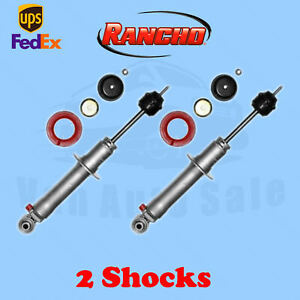 Rancho Rs9000xl Front 0 Lift Shocks For Mitsubishi Montero 2wd 09 99 08 Kit 2