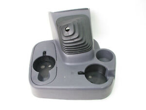 Dodge Ram 1500 2500 3500 Manual Shifter Boot Floor Console Cup Holder Gray 98 02