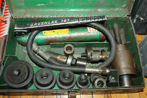 Greenlee Hydraulic Knockout Punch Driver Hand Pump 767