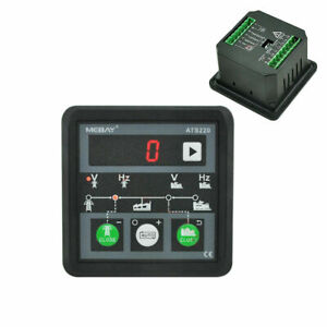 Ats220 Generator mains Automatic Transfer Switch Control Panel Ats Controller