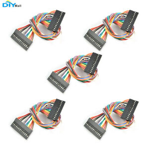 5pcs lot 20cm 13p 13 Pins Dupont Cable Jump Wire 2 54mm For Arduino