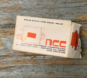 National Controls Corp Solid State Timer T1268 New In Package Time Delay Relay