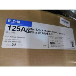 Eaton 3mm412r12p Meter Socket 1ph 125a 3 wire