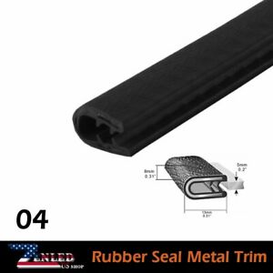 Cars Parts Rubber Seal Pvc Edge Trim Lock Decorate Protector Weather Strip 20ft